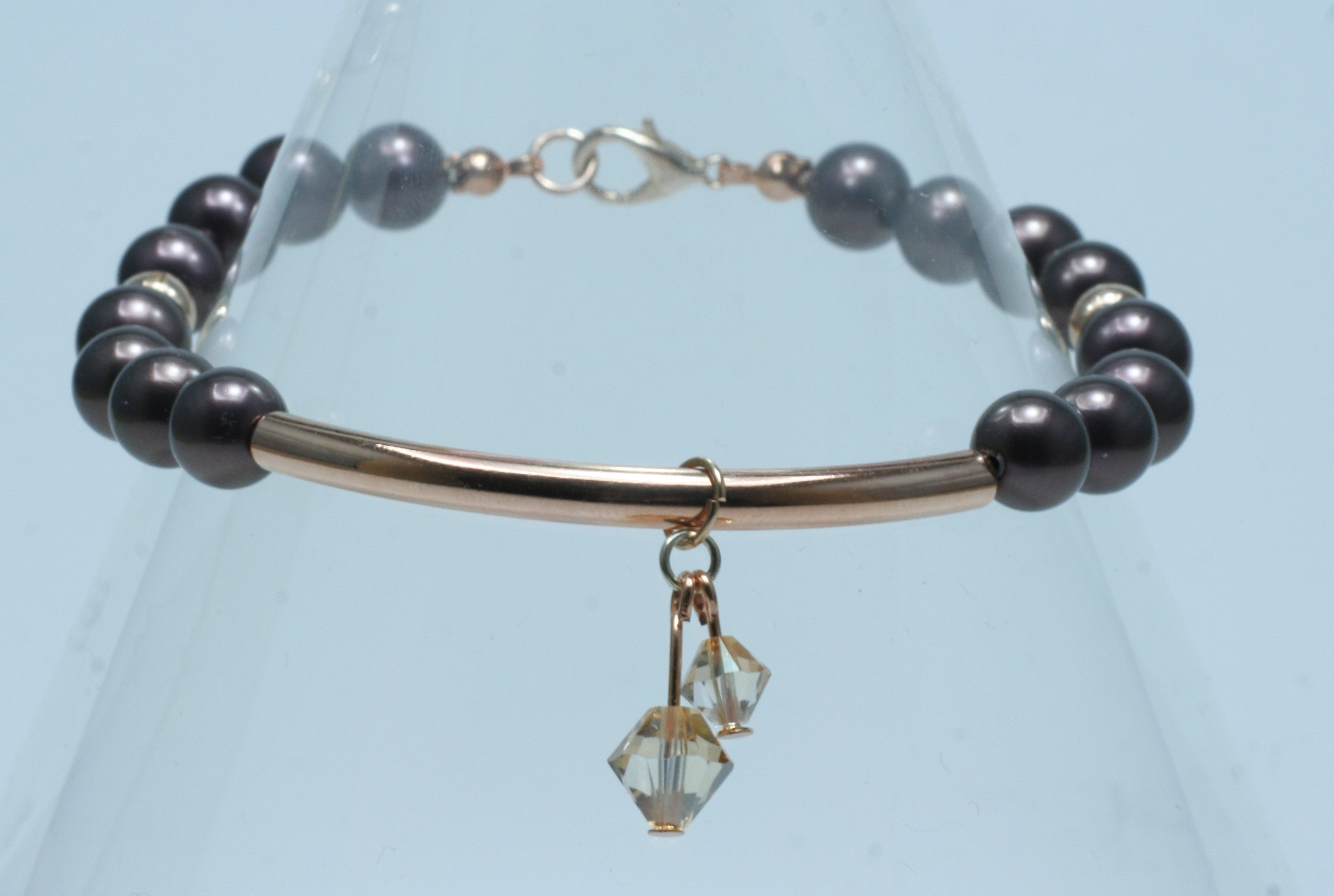 600f37783e2 Mulberry Swarovski Charm Bracelet Dirah Exclusives